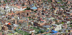 Neolithic revolution (brunomalfondet) Tags: bolivie copacabana couleursvives panoramaurbain