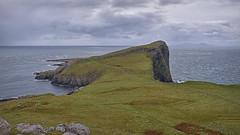 Neist Point.. (Harleynik Rides Again.) Tags: neistpoint isleofskye northuist rock sea scotland outerhebrides weather harleynikridesagain