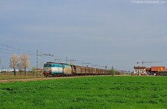 FS E655.529+E652.031+D245.431 - Centallo (Federico Santagati) Tags: fs e655 529 e652 031 d245 431 centallo mir mercitalia rail acqua regione poè caimano