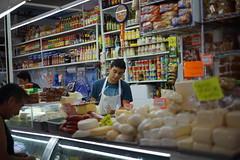 santa tere cremeria (magdalenoo) Tags: food market chesse creamery mexico mercado cremeria sony sonyalpha a7r minolta rokkor minoltarokkor
