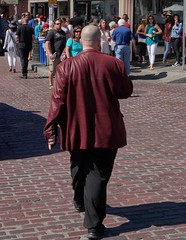 DSC08214 (David Housewright) Tags: man jacket bald walk pikeplace seattle streetphoto street candid unposed