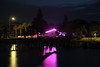 IN THE PINK (R. D. SMITH) Tags: pink water night longexposure darkness