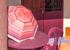 DSC_0798 (deborahb0cch1) Tags: parasol geometric porch colours bright red reds
