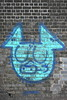 turquoise pig (Harry Halibut) Tags: 2017©andrewpettigrew allrightsreserved imagesofsheffield images sheffieldarchitecture sheffieldbuildings colourbysoftwarelaziness sheffield south yorkshire publicartinsheffield public art streetart graffiti murals sheff1708282974 37 turquoise pic wall bridge abutment east coast road