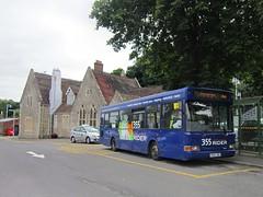 Renown Transport Services of Bexhill-on-Sea No.36 V560JBH (harryjaipowell) Tags: renowntransportservices renowngroup bexhillonsea 1999 withdrawn bus coach renown eastsussex eastsussexcountycouncil rider escc 36 v560jbh dennis dart mpd slf transdev plaxton pointer b26f londonsovereign buses harrow 560 london dpf560 ensignbus perfleet dealer startravel aylesbury startravelofaylesbury depotshuntvehicle depottug renowncoaches station battlerailwaystation battle heathfield 355