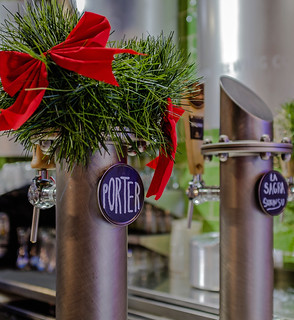 Beer Pumps (Blue Moon Pub - Valencia) (Fujifilm X100F 23mm f2 Compact) (1 of 1)