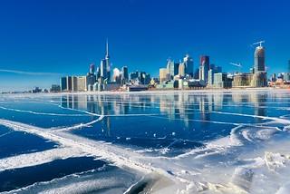 Toronto ice front