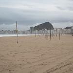 La spiaggia di Copa Cabana