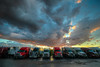 Super Truckers (ap0013) Tags: truck trucks trucking trucker truckers midway stop truckstop sunset storm hdr weather cloud clouds highway interstate columbia missouri columbiamissouri columbiamo