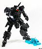This is the end, Black is the new Teal. (Devid VII) Tags: devidvii devid vii lego moc killtealvol2 teal mecha mech robot mobilesuit