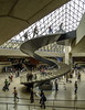 Under the pyramid (Tony Tomlin) Tags: france paris thelouvre art museum gallery louvrelobby