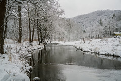 Recent pictures from our mountain cabin in North Carolina -- the Elk River [Explore 2017-12-15] (jimf_29605) Tags: pisgahgetaway mountain cabin elkpark northcarolina winter snow mounains sony a7rii 24240mm elkriver