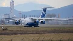 4K-AZ100 (Breitling Jet Team) Tags: 4kaz100 silk way airlines ilyushin il76td90sw euroairport bsl mlh basel flughafen lfsb