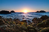 Last sunset of 2016, Redo (fgmachine) Tags: pointlobos sutrobaths lastsunset2016 sanfrancisco california beach ocean san francisco seagulls pentax k50