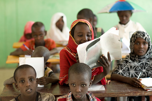 Fatuma Ali, 10, Grade 4 student at Abdu Hassen Alternative Basic Education Centre