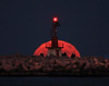 Moonrise (Robyn Hooz) Tags: luna moon shot rise sorgere diga sottomarina chioggia venezia zoom 600mm