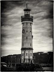 No Radar, no GPS... (Ody on the mount) Tags: anlässe architektur bodensee em5ii filmkorn fototour leuchtturm lindau mzuiko40150 omd rahmen türme urlaub bw lighthouse monochrome sw towers lindaubodensee bayern deutschland de