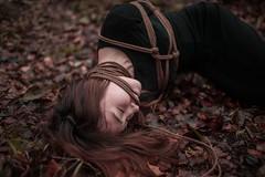 Autumn ropes (Frater O) Tags: ropes girl kinbaku shibari sm photo bondage