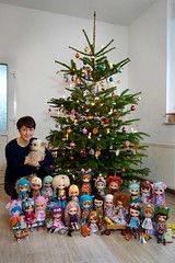 Merry Christmas! <3 (Miema) Tags: miema miemadollhouse christmas happy me doll blythe