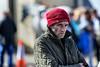 The Citreon Driver (Frank Fullard) Tags: frankfullard fullard candid street portrait red citreon deiver cap sour dour ballinasloe fair galway irish ireland