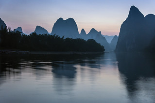 Pre-dawn in an ancient landscape