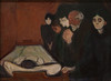 Edvard Munch, Att he Deathbed, 1895 6/26/17 #sfmoma (Sharon Mollerus) Tags: edvardmunchbetweentheclockandthebedexhibit sfmoma sanfranciscomuseumofmodernart sanfrancisco california unitedstates us