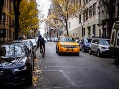 typical NYC street scene | Explored 12.30.17 (Web-Betty) Tags: nyc newyorkcity newyork bigapple city urban unitedstates taxi