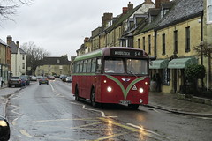 """""""By the time we got to Woodstock....."""" (DaveAFlett) Tags: oxfordbusmuseum woodstock oxfordshire 756kfc aec reliance"""