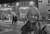 Mary outside The Wheatsheaf Bakewell (Mary&Neil) Tags: elements mary bakewell canon eos80d