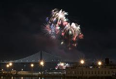 Happy New Year (shishirmishra1) Tags: sanfrancisco light fireworks baybridge california usa outdoor celebration holidays new year