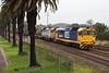 DL Gets a Run (PJ Reading) Tags: rail railway train goods freight freighter diesel locomotive cargo hunter valley huntervalley nsw newsouthwales australia australian pacificnational pn pacnat 81class dlclass grain bulk waratah