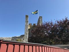 DLG-Gotland 5-1 (greger.ravik) Tags: gotland visby ringmur medeltid middle ages medieval medeltidsveckan flagga sverige dlg