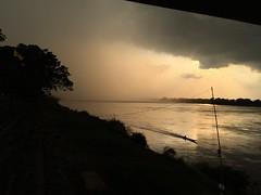 Sunset storm along the Mekong 2018-1-7 12 (SierraSunrise) Tags: clouds mekong mekongriver nongkhai phonphisai reflections river skies sky storm sunset thailand