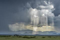 Monsoon light (John Finney) Tags: monsoon rain rains arizona usa plains weather extremeweather weatherphotography chase monsoonchase