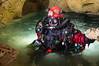 Portrait de plongeur souterrain - Baume des Anges, Malaucène (84) - France (Romain VENOT) Tags: baume des anges grotte cavité plongée eau water spéléologie speleo caving caves cavités souterraine psout ffs joki megalodon casque helmet petzl vasque olympus m10markii malaucène vaucluse mollanssurouvèze drôme france paca sud toulourenc pierre isc diver diving rebreather