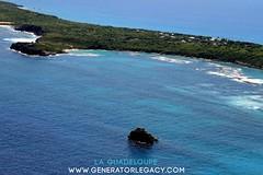 IMG_1319 (Copier) (mathieuarc011) Tags: guadeloupe dom france tropical vu du ciel fr caraibes pointe chateau petite ile desirade ulm lagoon beach plage