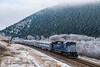 Bradman (jameshouse473) Tags: bradman montana rail link sd70ace passenger train hoar frost tree mountain river phosphate