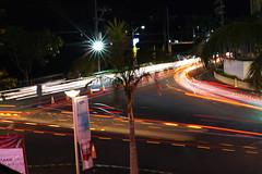 Southwoods light trails (AllanAnovaPhotos) Tags: lightrails light trails southwoods binan laguna san pedro malls mall road trees