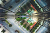 splinter. (jonathancastellino) Tags: toronto architecture reflection street curve splinter glass leica m roof rooftop rooftopping college university playground car road abstract ngc