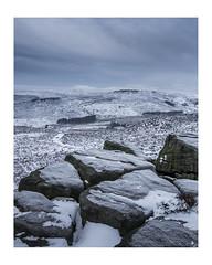 Bleak Tor (KRLandscapes) Tags: lee03mediumgrad higger tor ice snow bleak sony a7ii winter peakdistrict derbyshire burbage edge