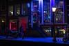 Amsterdam winter night (Ralph Rozema) Tags: snow winter canal redlight night amsterdam holanda netherlands