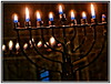 8 nights of lights... (Mike Goldberg) Tags: candles burning candelabrum holiday hanukkah canong16 effects mikegoldberg jerusalem
