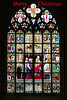 Merry Christmas - 2017 (Jill Clardy) Tags: belgium europe tulipsandwindmills vantagetravel travel 20170405mg5716edit our lady cathedral church stained glass window merry christmas explore explored