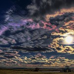 Sunset Colors in Clouds thumbnail