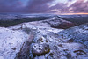 Winter Dawn Along The Great Ridge (marc_leach) Tags: peakdistrict highpeak mamtor hopevalley snow ice landscape canon wideangle tokina1116mm manfrotto055xprob