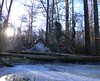Ent pond in a winter sun (jakyle8701) Tags: winterice wintermorning entpond ice entman ent pianowaterfall whiskeybarrelwaterfall