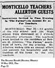 Allerton House Hosts Monticello Teachers 1921-05-19 (RLWisegarver) Tags: piatt county history monticello illinois usa il