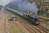 Humberside Envoy 1979 (paul_braybrook) Tags: 5305 class5 black5 lms steamlocomotive hull york sheffield guidebridge southyorkshire dore railtour railway trains