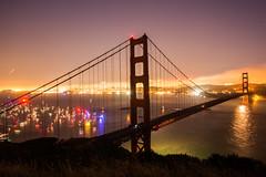 Darkened (Thomas Hawk) Tags: 75thbirthdaygoldengatebridge america batteryspencer california goldengatebridge marin marinheadlands sanfrancisco usa unitedstates unitedstatesofamerica bridge millvalley us fav10 fav25 fav50 fav100
