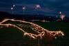 Lichtmalerei spontan (matthias_oberlausitz) Tags: feuerwerk wunderkerzen lichtmalerei lightpainting silvester neujahr